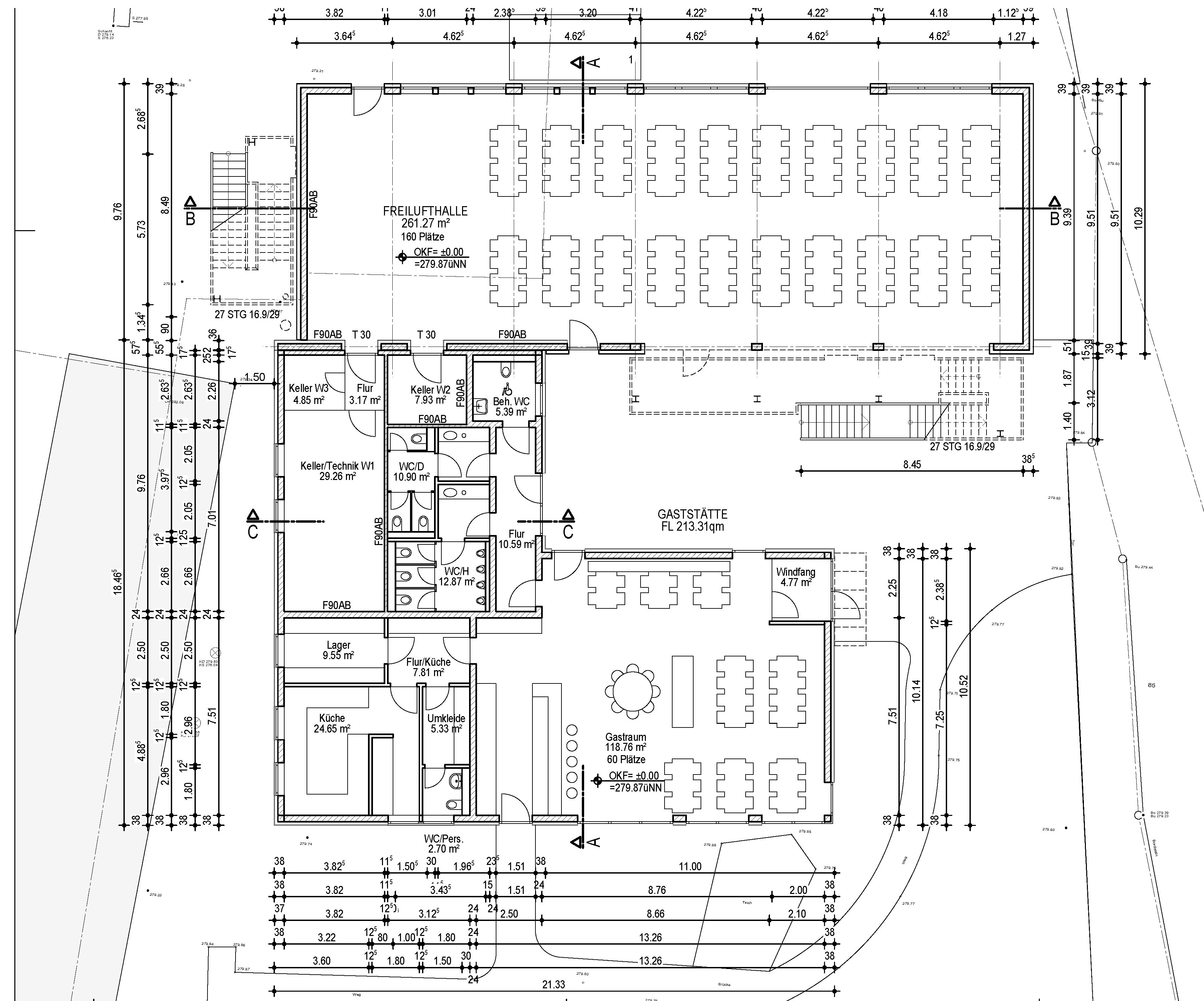Niedlich Küche Restaurant Grundrissgestaltung Galerie - Ideen Für ...